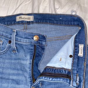 Madewell ripper blue jeans